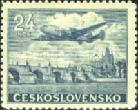 [Airmail - First Flight from Prague to New York, type YGA]