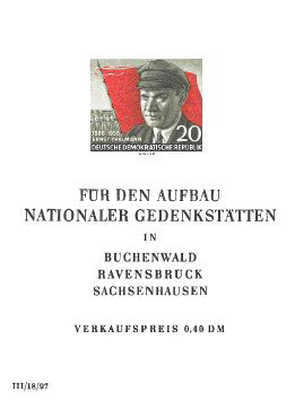 [The 70th Anniversary of the Birth of Ernst Thälmann, Typ ]