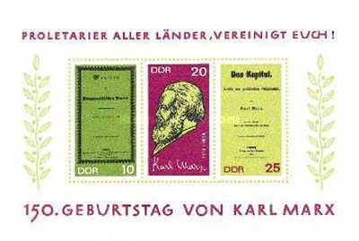 [The 150th Anniversary of the Birth of Karl Marx, Typ ]