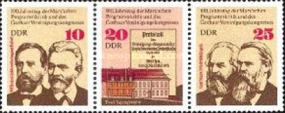 [The 100th Anniversary of the Gotha Congress, Typ ]