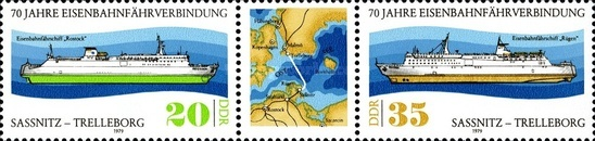 [The 70th Anniversary of the Ferry Service Sweden-DDR, Typ ]