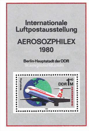 [Aviation - The 25th Anniversary of Interflug Airlines, Typ ]