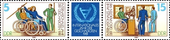 [The United Nations International Handicap Year, Typ ]