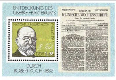 [The 100th Anniversary of the Discovery of Tuberculosis by Robert Koch, Typ ]