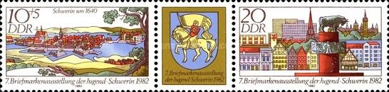 [Stamp Exhibition in Schwerin, Typ ]