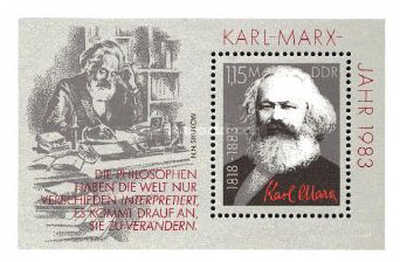 [The 100th Anniversary of the Death of Karl Marx, Typ ]