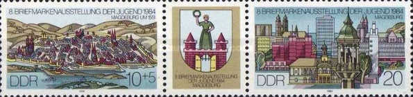 [Youth Stamp Exhibition, Magdeburg, Typ ]