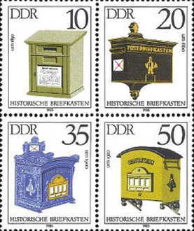 [Historical Letter Boxes, Typ ]
