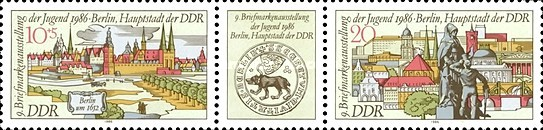 [Youth Stamp Exhibition in Berlin, Typ ]