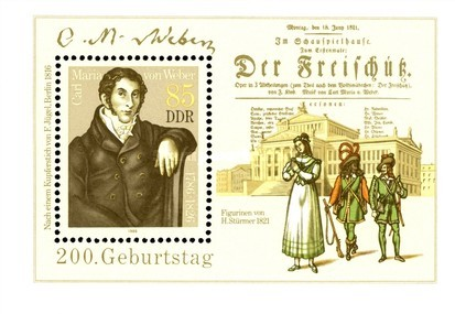 [The 200th Anniversary of the Birth of Carl Maria von Weber, Typ ]