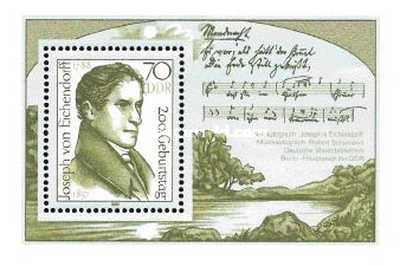 [The 200th Anniversary of the Birth of Joseph von Eichendorff, Typ ]