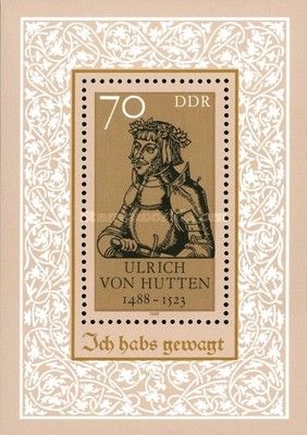 [The 500th Anniversary of the Birth of Ulrich von Hutten, Typ ]