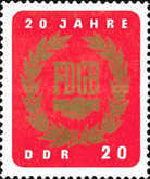 [The 20th Anniversary of the Free German Trade Union, Typ ABP]