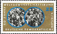 [The 20th Anniversary of the Free German Trade Union, Typ ABQ]
