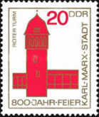 [The 800th Anniversary of Karl-Marx-Stadt, Typ ABS]