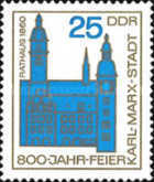 [The 800th Anniversary of Karl-Marx-Stadt, Typ ABT]