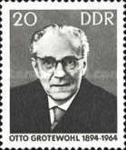 [The 1st Anniversary of the Death of Otto Grotewohl, Typ ADA]