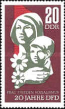 [The 20th Anniversary of Womens Union, Typ AGZ]