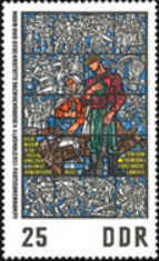 [Stained Glass - In Memorial of Sachsenhausen, Typ AKM]