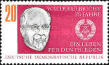 [The 75th Anniversary of the Birth of Walter Ulbricht, Typ ALV]