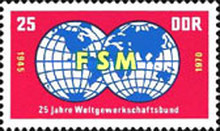 [The 25th Anniversary of the Free German Trade Union, Typ ATF]