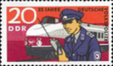 [The 25th Anniversary of the East German Folk Police, Typ ATJ]