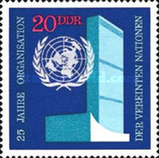 [The 25th Anniversary of the United Nations, Typ AUW]
