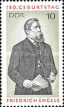 [The 150th Anniversary of the Birth of Friedrich Engels, Typ AUX]