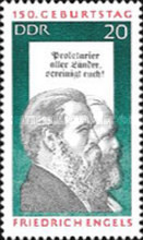 [The 150th Anniversary of the Birth of Friedrich Engels, Typ AUY]