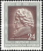 [The 125th Anniversary of the Death of Beethoven, Typ AW]