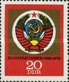 [coat of Arms - The 50th Anniversary of USSR, type BCB]