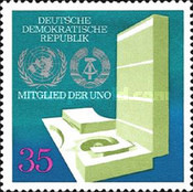 [The United Nations Admission of DDR, Typ BEQ]