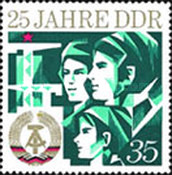 [The 25th Anniversary of DDR, Typ BHF]