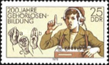 [The 200th Anniversary of the Invention of Sign Language, Typ BVD]