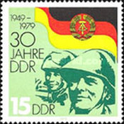 [The 30th Anniversary of DDR, Typ CAS]