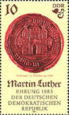 [The 500th Anniversary of the Birth of Martin Luther, Typ CLJ]