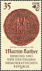 [The 500th Anniversary of the Birth of Martin Luther, Typ CLL]