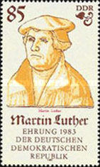 [The 500th Anniversary of the Birth of Martin Luther, Typ CLM]