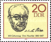 [The 100th Anniversary of the Birth of Otto Nuschke, Typ CMD]