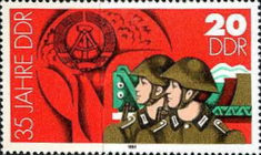 [The 35th Anniversary of DDR, Typ CQV]