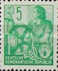 [Definitives - Five-Year Plan - Posthorn Horizontal in Watermark - Lithography Printing, Typ CR]