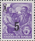 [Definitives - Five-Year Plan Stamps Surcharged - Offset Lithography Overprint, Typ CS6]