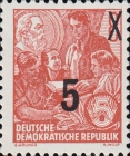 [Definitives - Five-Year Plan Stamps Surcharged - Offset Lithography Overprint, Typ CT4]