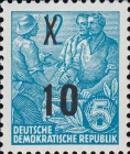 [Definitives - Five-Year Plan Stamps Surcharged - Offset Lithography Overprint, Typ CV6]