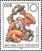 [The 125th Anniversary of Dresden Zoo, Typ CVK]