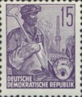 [Definitives - Five-Year Plan - New Watermark, Typ CX8]