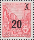 [Definitives - Five-Year Plan Typography Printing Stamps Surcharged - Glossy Letterpress Overprint, Typ CZ4]