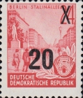 [Definitives - Five-Year Plan Typography Printing Stamps Surcharged - Glossy Letterpress Overprint, Typ CZ6]