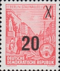 [Definitives - Five-Year Plan Stamps Surcharged - Offset Lithography Overprint, Typ CZ7]