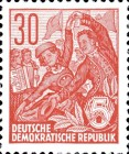 [Definitives - Five-Year Plan  - New Perforation, Typ DB5]
